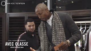 Serge Ibaka throws down with Fred VanVleet to improve his fashion game  AVEC CLASSE