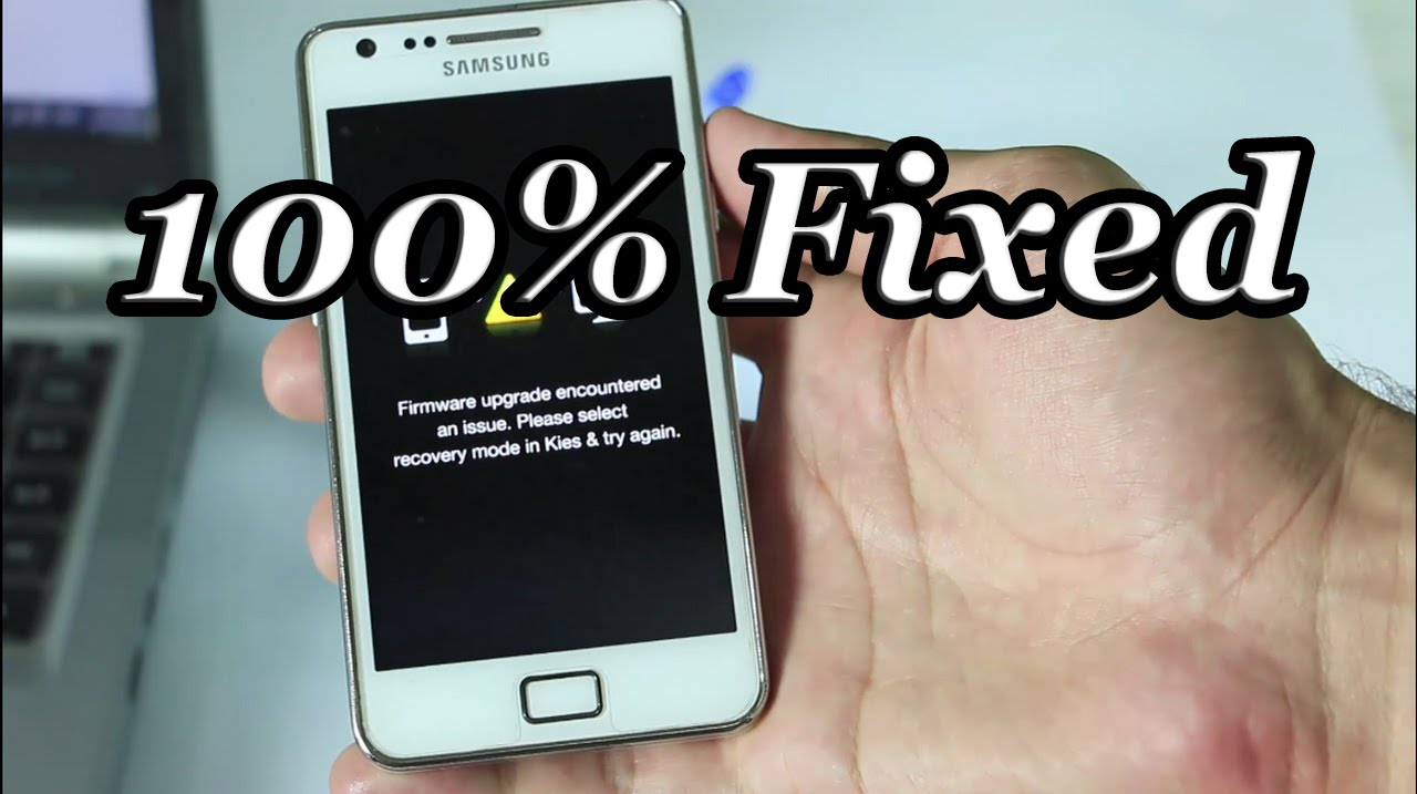 Fixed firmware upgrade encountered an issue Error All Android Mobiles Tablets