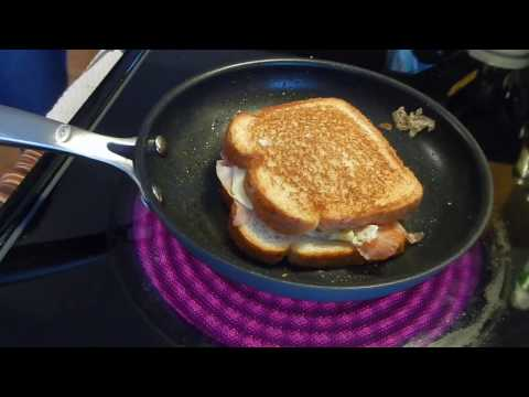 Ham, Egg, and Cheese Grilled Sandwich