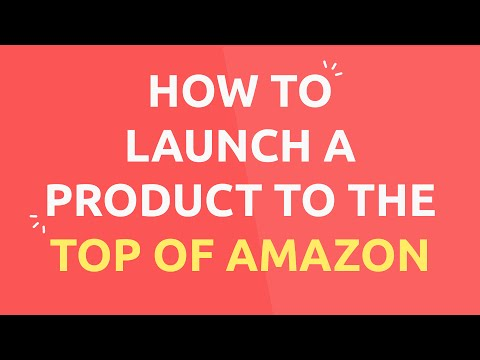 The Secret Methods to Launch a Product to the Top of the Rankings on Amazon