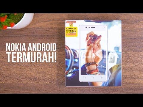 Unboxing NOKIA 3 Indonesia