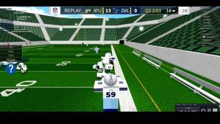 Legendary Football Highlights Roblox (Playing qb and other positions)