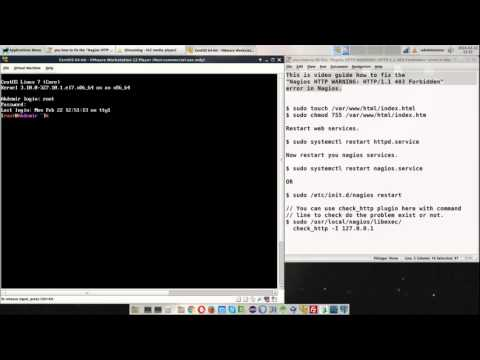 "How to fix the ""Nagios HTTP WARNING: HTTP-1.1 403 Forbidden"" error in Nagios"