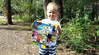 РОБОКАР ПОЛИ Журнал с игрушкой Автомобиль в подарок ROBOCAR POLI на TUMANOV FAMILY