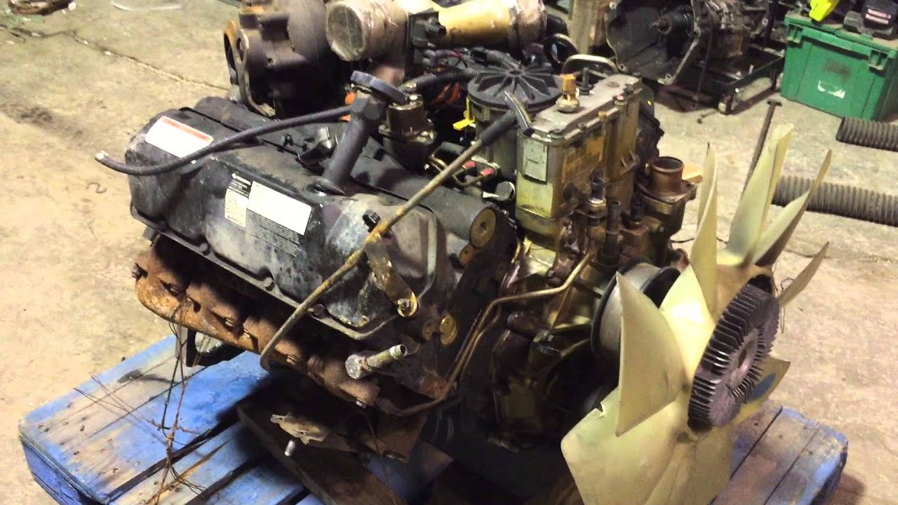 04  98 Ford Powerstroke 7 3 Turbo Diesel Engine For Sale 133k