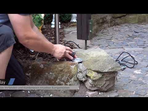 GEV Gartenleuchte FLORA DIM 22201