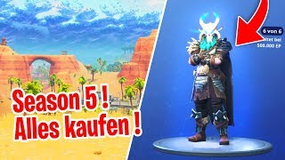 WE BUY ALL SKINS ! - Fortnite Season 5 Battle Pass