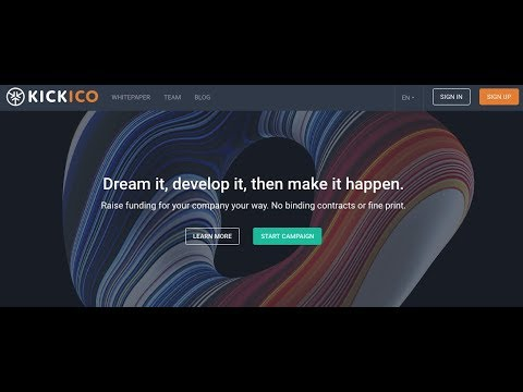 KICKICO - ICO is LIVE! How to invest ?