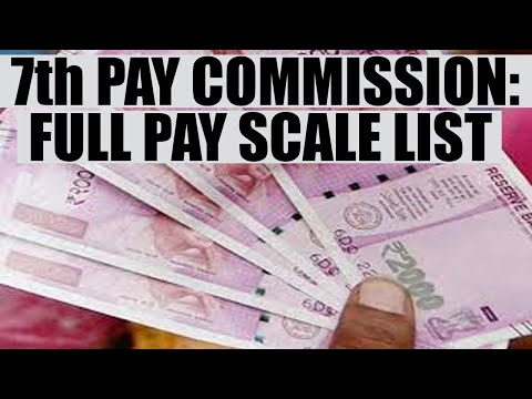 7th pay Commission: Odisha implements scheme, full pay scale list | Oneindia News