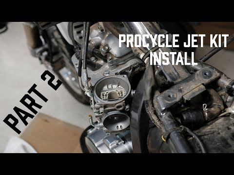 PART TWO - Procycle Jet Kit Install//Test Ride//DR650
