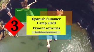 Learn Spanish free. 3 Spanish Summer Camp - Learn how to say your Favorite Activities in Spanish