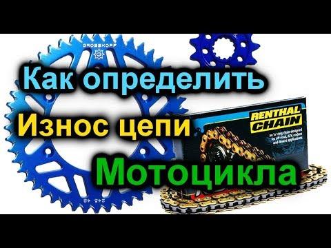 Как определить износ цеми мотоцикла? Легко!!! Замена цепи.