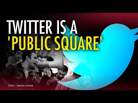 Twitter's censorship of conservatives violates 1A