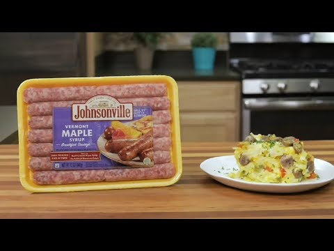 Slow Cooker Overnight Breakfast Casserole | Johnsonville