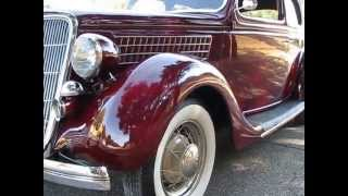 1935 Ford Tudor Bustle-Back Henry Survivor Walk Around Start