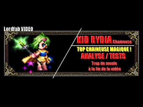FFBE : PURE SUMMONER RYDIA Analyses + Tests / TIRAGE en fin de vidéo OMG !