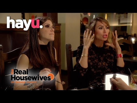 Kelly Reveals She Had Lunch With Vicki | The Real Housewives of Orange County
