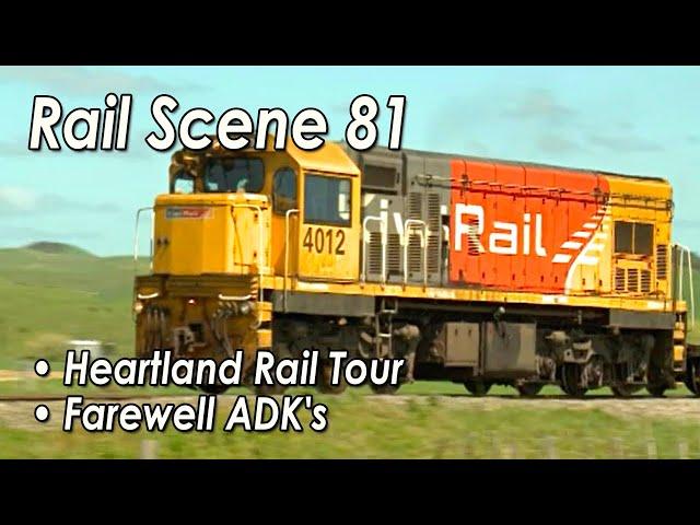 New Zealand Rail Scene Vol 81 -- The Magic of NZ Railways