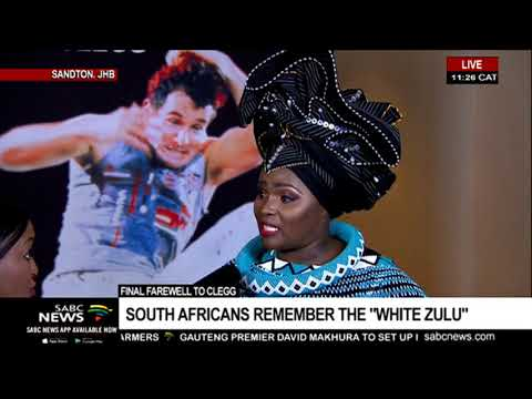 South Africans remember the White Zulu