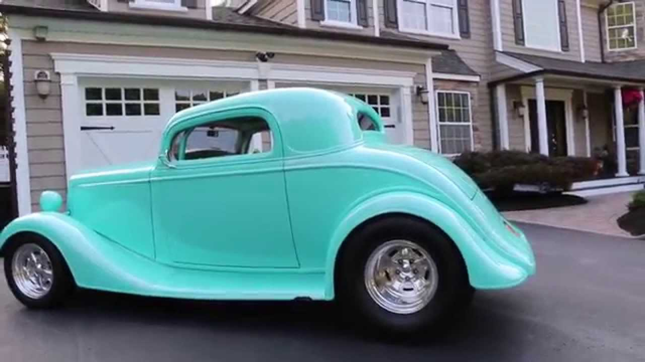 Sold 1934 Chevy 3 Window Coupe For Sale 355 Bow Tie