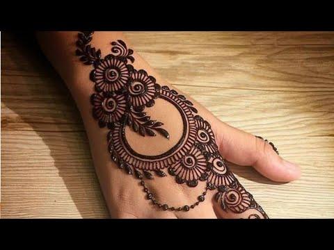 latest arabic mehndi designs for back hand