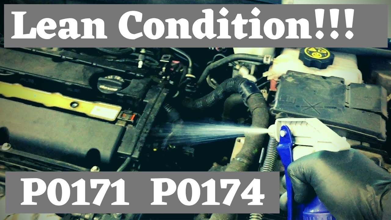How to Diagnose and Fix a Lean Condition - Chevy Cruze P0171