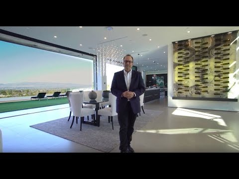 16805 Oak View Drive | Gary Gold Tours New Encino Modern Home with City Lights Views