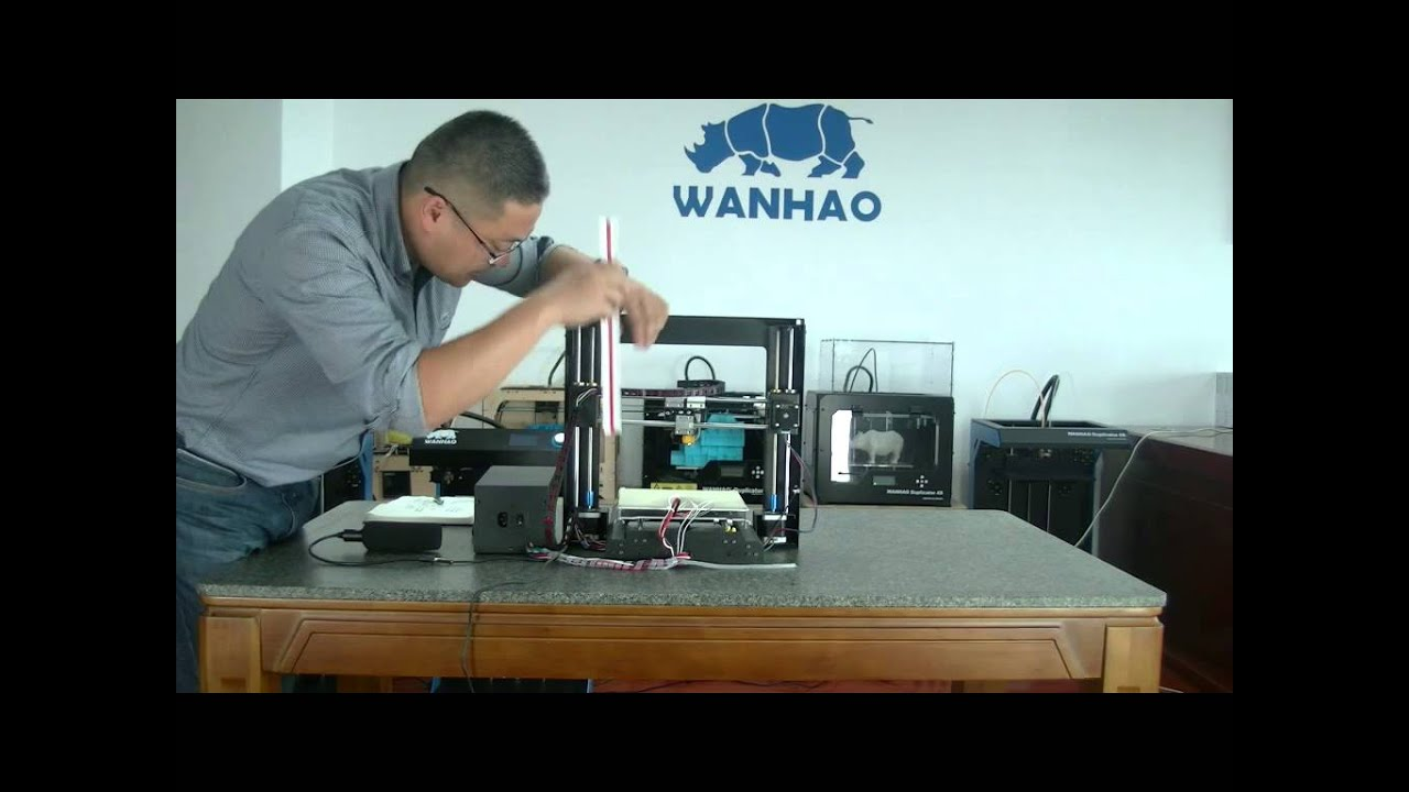 How to balance Z axis of Wanhao Duplicator i3