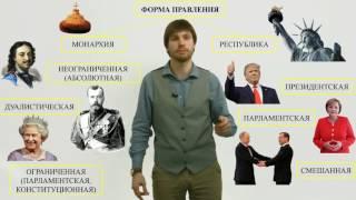 Обществознание ЕГЭ. Форма государства