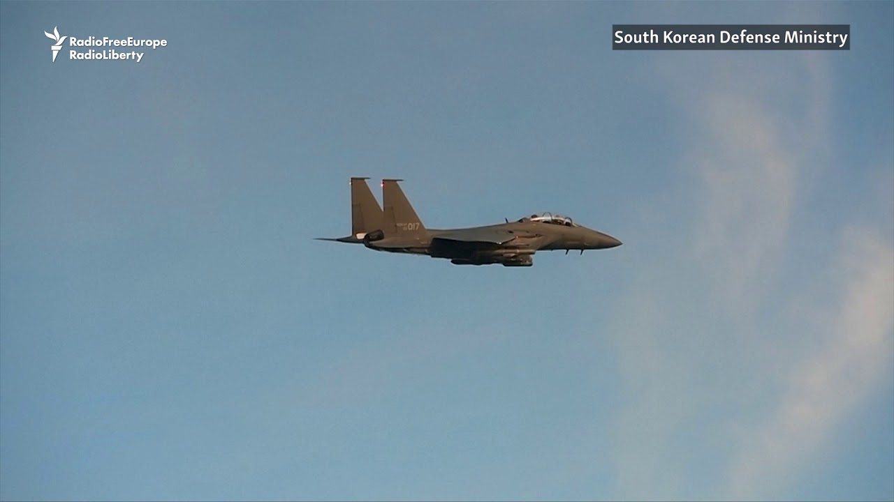 South Korea Holds Military Drills After North's Bomb Test