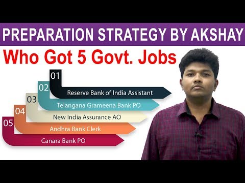 How I Cracked 5 Government Jobs in First Attempt | Akshay Success Story in Getting Jobs