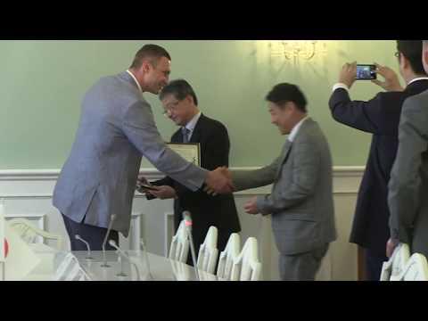 Віталій Кличко зустрівся з керівництвом японської компанії Itochu