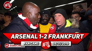 Arsenal 1-2 Frankfurt | Emery Is Absolutely Clueless!! (Lee Judges Rant)