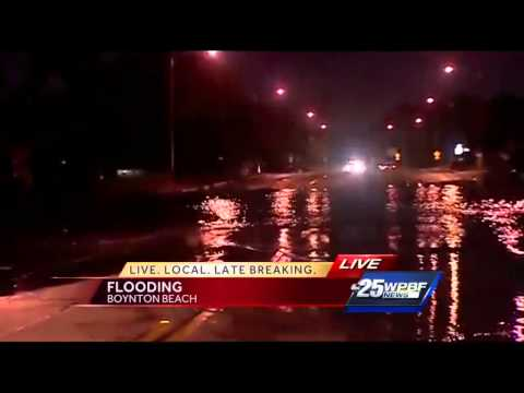 Officials warn drivers to avoid standing water on roadways