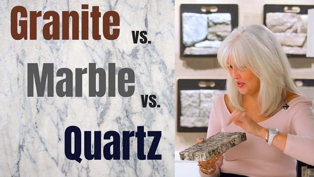 Quartz Vs Granite Vs Marble How To Choose The Right Countertop