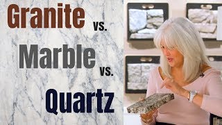 Quartz vs Granite vs Marble: How to choose the right countertop
