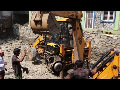 Haw To Remove JCB (BHL) Engine  //  pokhara nepal /