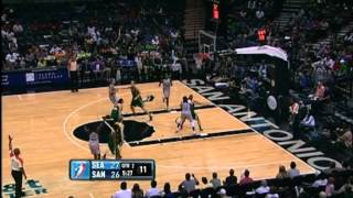 WNBA 2012 Highlights: San Antonio Silver Stars vs. Seattle Storm [14.09.2012]