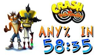 Crash Twinsanity Speedrun in 58:35