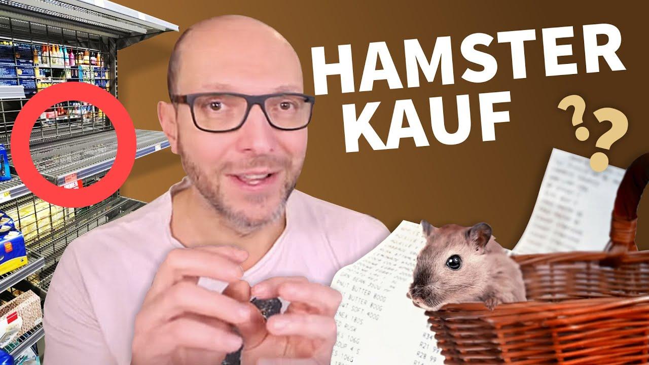 Hamsterkäufe: 5 Gründe GEGEN den Wahnsinn!