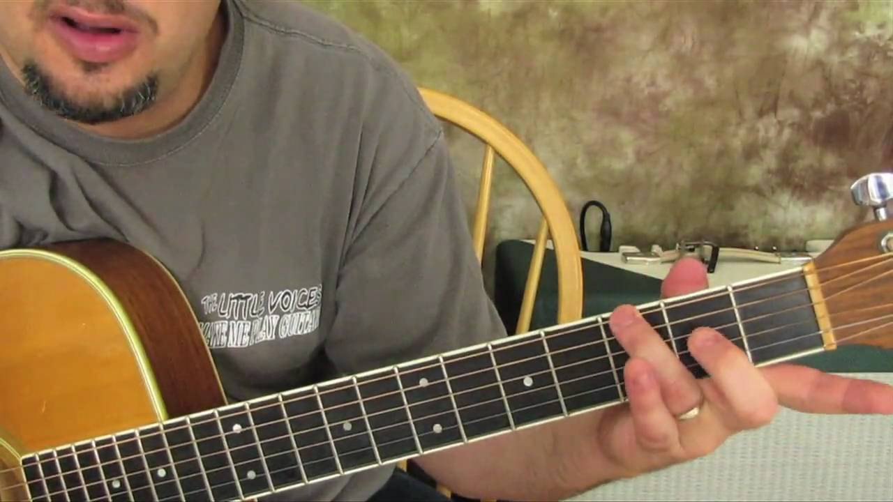 How To Play Happy Birthday On Guitar Youtube