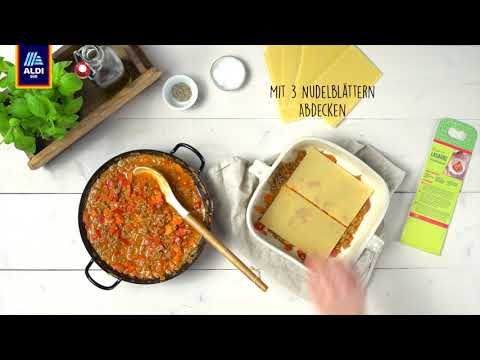 Rezept: Kochbox Lasagne | ALDI SÜD