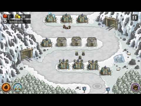 Kingdom Rush - Coldstep Mines(level 7) [HD] -