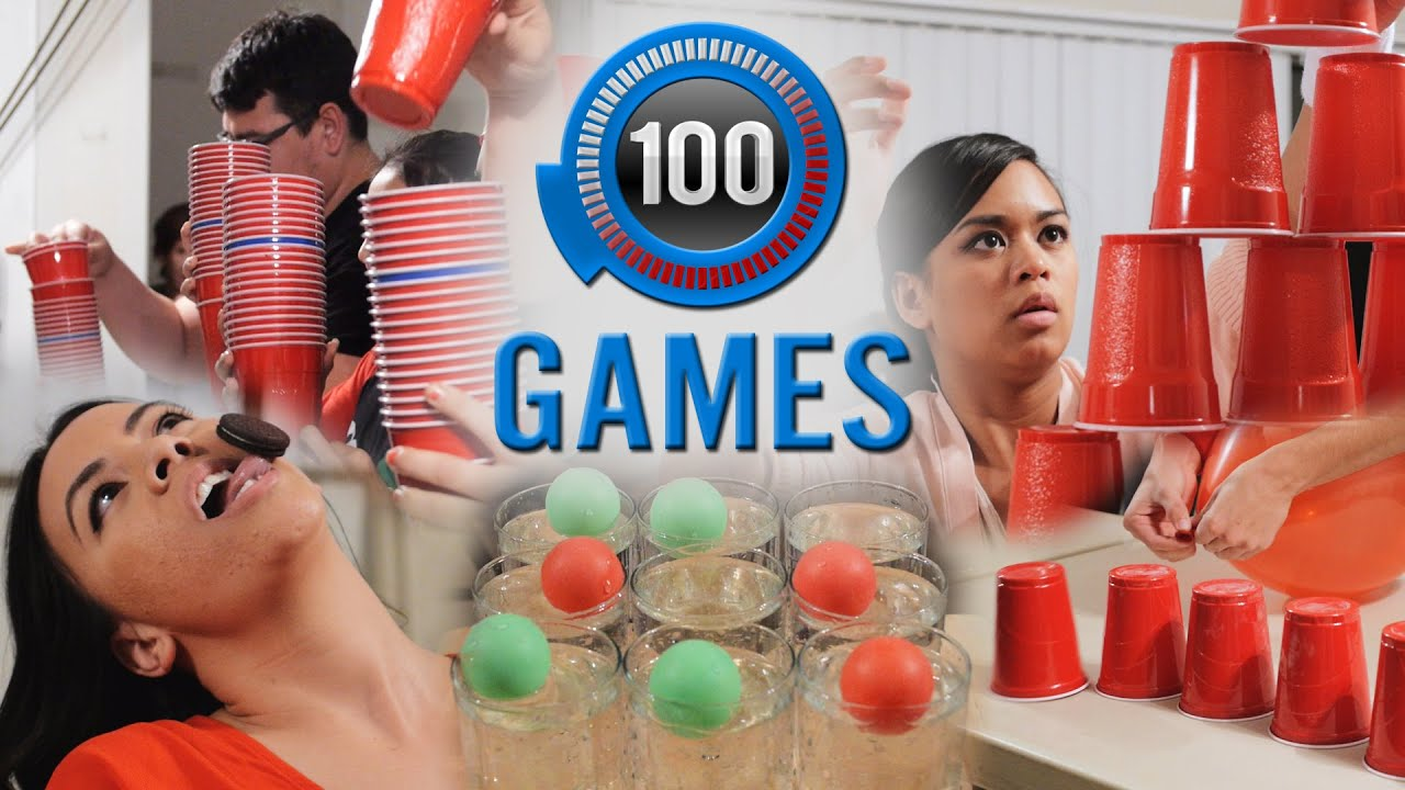 Minute to Win It  100 Party Games   The Ultimate List   YouTube