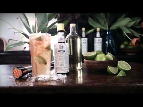 how to make lemon lime bitters drink