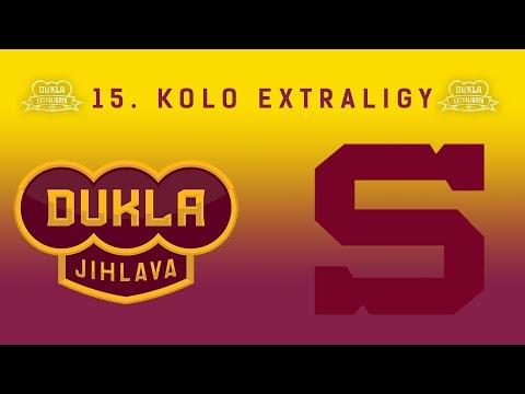 15. kolo (19.10.2017) HC Dukla Jihlava - HC Sparta Praha