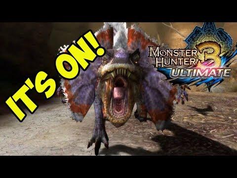 GREAT JAGGI BOSS! Monster Hunter 3 Ultimate!