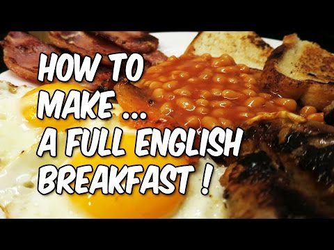 PERFECT: Cooking English Fried Breakfast WITH NO OIL