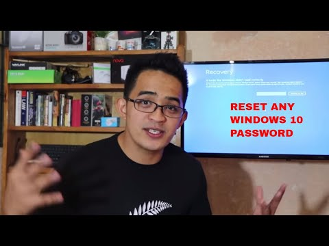 HACK | RESET Any Windows 10 Password, No Software Used. Do It Like A Pro!