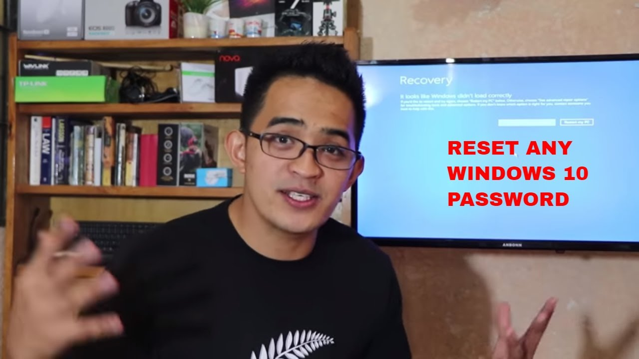 RESET Windows 10 password, No software used. Do it like a pro!
